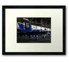 Blue Angel #6 Framed Print