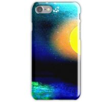 rattle can painting iPhone Case/Skin