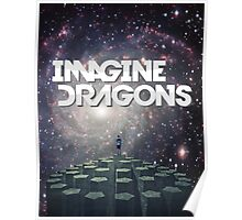 Imagine Dragons - Night Visions (galaxy design) Poster