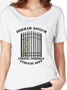 Arkham Asylum, Inmate: Poison Ivy  Women's Relaxed Fit T-Shirt