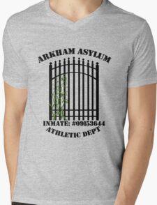 Arkham Asylum, Inmate: Poison Ivy  Mens V-Neck T-Shirt