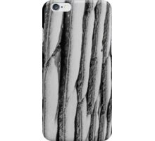 Winter Roof Black and White iPhone Case/Skin