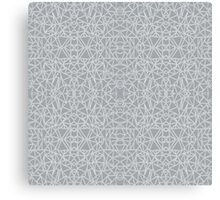 Abstract Blocks Grey #3 Canvas Print