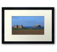 Tantallon Castle and the Bass Rock Framed Print