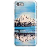 """Frozen Mountain Scene"" iPhone Case/Skin"
