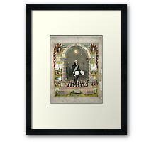 George Washington as a Freemason Framed Print