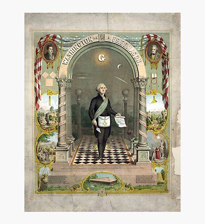 George Washington as a Freemason Photographic Print