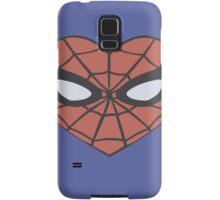 Spider-Man Heart T-Shirt Samsung Galaxy Case/Skin