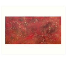 Abstract Lanscape Art Print