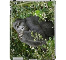 mountain gorilla, Uganda iPad Case/Skin