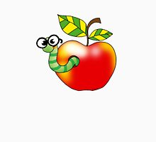 Smart bookworm with red apple T-Shirt