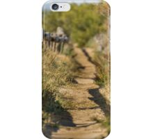 Lonely Warm Walk iPhone Case/Skin