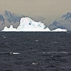 Icebergs of Crystal Sound by Robert Elliott