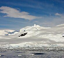 Grandidier Channel ~ Antarctica by Robert Elliott