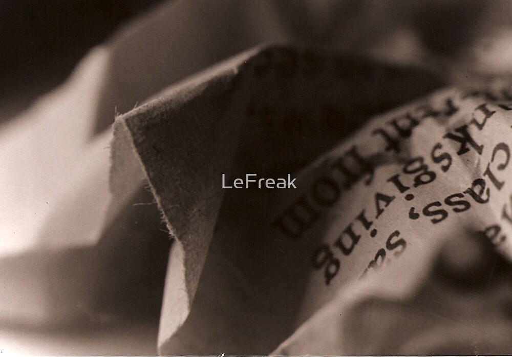 Paper by LeFreak