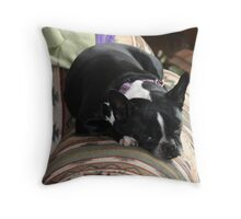 comfy zoe Throw Pillow