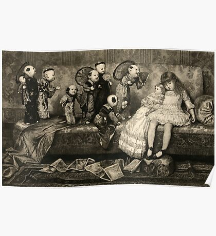 Sleeping Girl Dreams of Living Dolls Poster