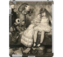 Sleeping Girl Dreams of Living Dolls iPad Case/Skin