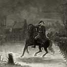 George Washington at the Battle of Trenton by Vintage Works