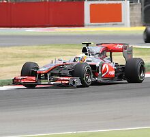 Lewis Hamilton - Mclaren MP4-25 - Silverstone 2010 by MSport-Images