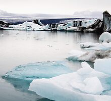 ice lagoon iceland by kisstiger
