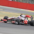Jenson Button - Mclaren MP4-25 - Silverstone 2010 by MSport-Images