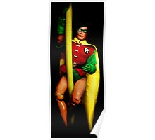 Robin Action Figure Poster