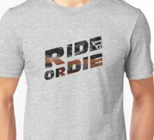 Fast And Furious - Ride Or Die Unisex T-Shirt