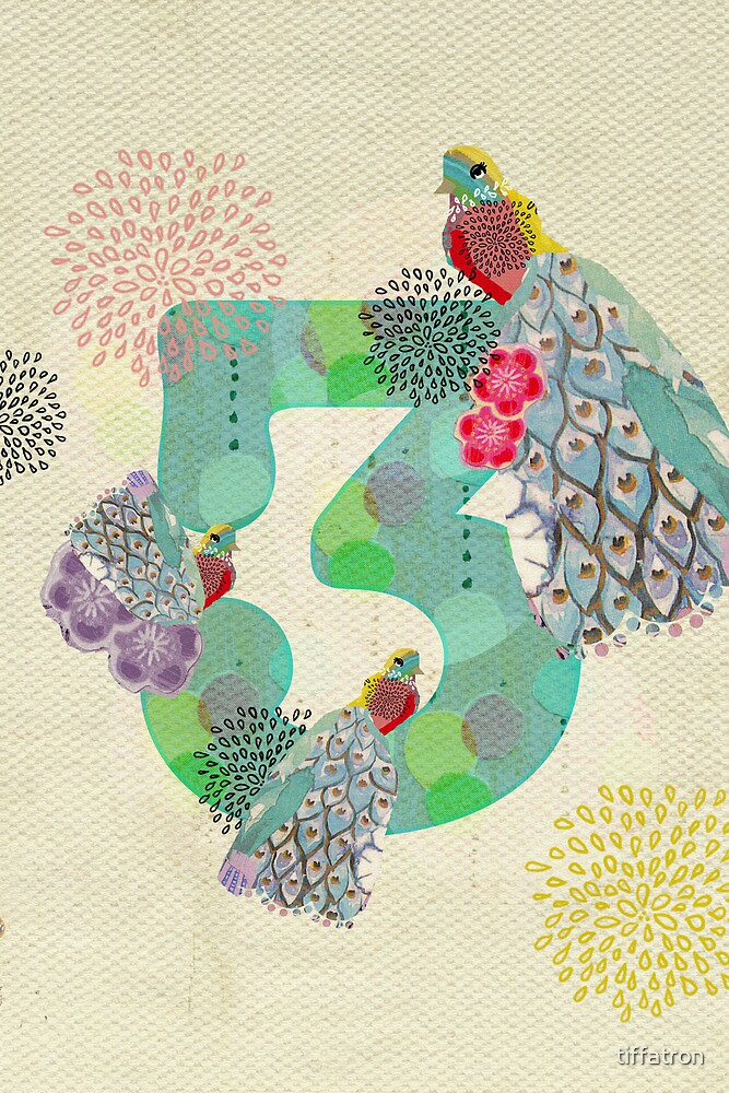 3 [Alphabet Challenge] by Tiffany Atkin