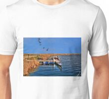 Waiting for the Day to Begin!!! Unisex T-Shirt