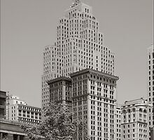 Detroit, the Penobscot building by jeff lamb