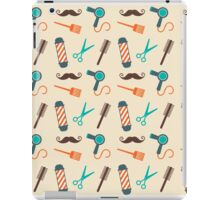 Barbershop Pattern iPad Case/Skin