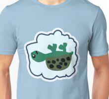 Upside Down Turtle  Unisex T-Shirt