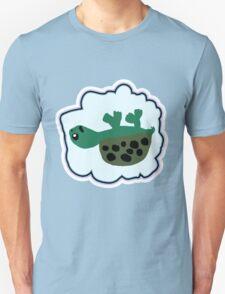 Upside Down Turtle  T-Shirt
