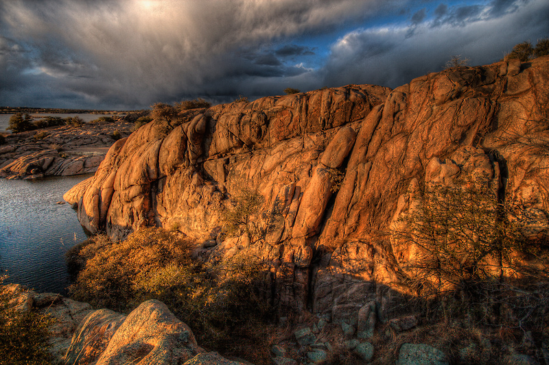 Up on the Big Rocks by Bob Larson
