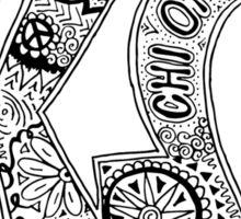Chio Doodle Letters Sticker