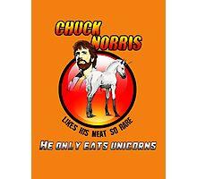 Chuck be tough 2.  Photographic Print
