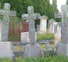 Three Crosses by Michael John