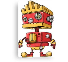 Fun Robot Canvas Print