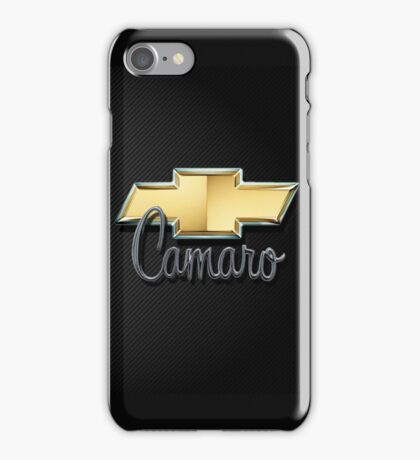 Bow Tie Camaro iPhone Case/Skin