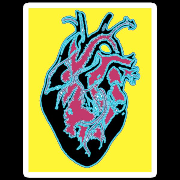 Color Me Crazy - Wacky Heart by jenna85