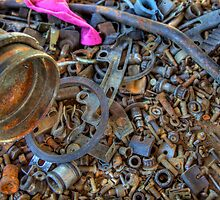 Nuts! (and bolts and screws and parts...) by njordphoto
