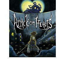 Attack on Hearts Photographic Print
