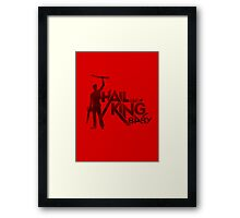 Evil Dead - Hail To The King [Light] Framed Print