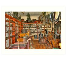 Old Time Hardware Store Art Print