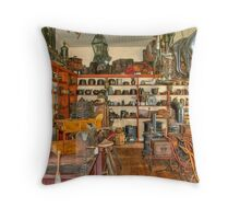 Old Time Hardware Store Throw Pillow