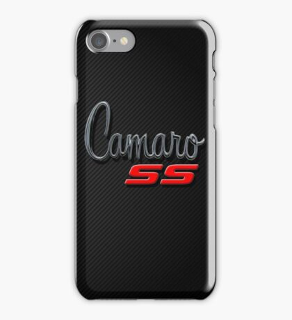 Camaro SS iPhone Case/Skin