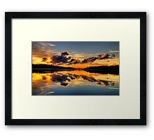 Nature's Paintbrush - Narrabeen Lakes,Sydney - The HDR Experience Framed Print