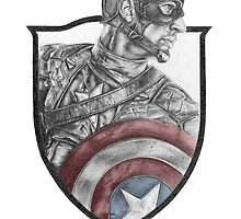 The First Avenger by PencilCraftsman