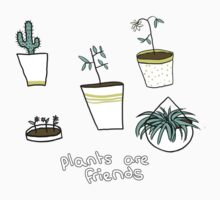 plants are friends Kids Tee